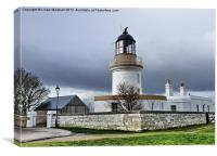 Cromarty Lighthouse., Canvas Print