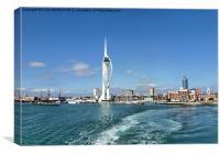 Leaving Portsmouth Harbour, Canvas Print