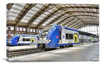 SNCF in Lille, Canvas Print