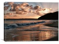 Sunrise over Carbis Bay, Canvas Print