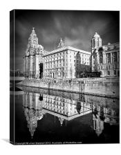 The Liver Building, Canvas Print