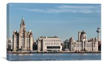 Liverpool Waterfront., Canvas Print