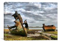 Wrecks at Fleetwood Marsh.