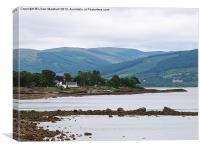 Rothesay-Isle of Bute., Canvas Print