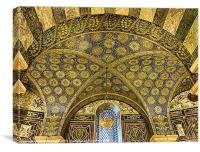 Aachen Cathedral., Canvas Print