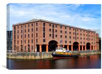 Albert Dock, Canvas Print