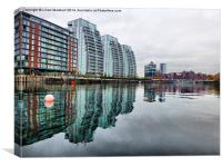 Salford Quays., Canvas Print