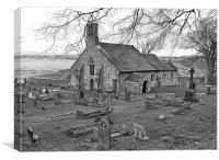 St Peters Church. Heysham., Canvas Print