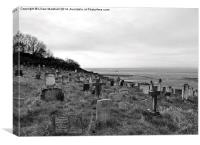 St Peters Heysham, Canvas Print
