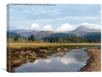 Goatfell-Isle of Arran, Canvas Print