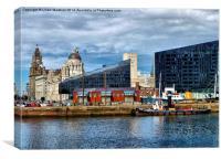A Corner of Liverpool, Canvas Print