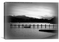 Lake Windermere, Canvas Print