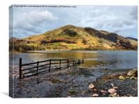 Buttermere., Canvas Print