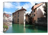 Annecy- France., Canvas Print