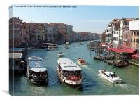 Venice. , Canvas Print