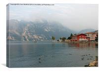 Lake Garda-Italy, Canvas Print