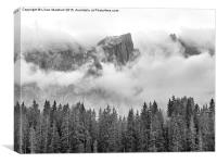 The Dolomites.  , Canvas Print