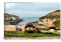 Flamborough Head., Canvas Print
