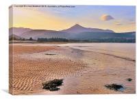 Isle of Arran., Canvas Print