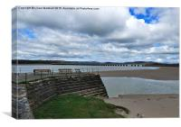 Arnside, Cumbria., Canvas Print