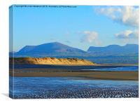 Newborough . Isle of Anglesey, Canvas Print