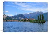 Lake Maggiore . Italy, Canvas Print