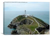 South Stack Lighthouse. , Canvas Print