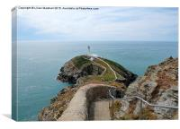 South Stacks Lighthouse, Canvas Print