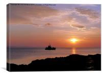 Brodick Bay , Canvas Print