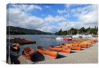 Lake Windermere.at Bowness. , Canvas Print