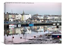 Caernarfon Harbour , Canvas Print