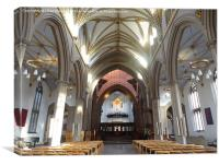 Blackburn Cathedral , Canvas Print