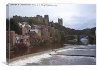 Durham Castle and Cathedral. , Canvas Print