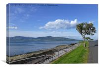 Rothesay Isle of Bute. , Canvas Print