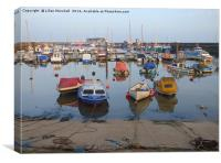Bridlington Marina. , Canvas Print