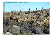 Giants Causeway , Canvas Print
