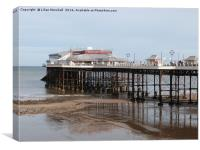Pavillion Theatre Cromer. , Canvas Print