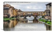 Ponte Vecchio Florence., Canvas Print
