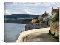 Robin Hoods Bay. , Canvas Print