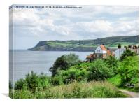 Robin Hoods Bay., Canvas Print