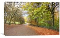 Heaton park.       , Canvas Print