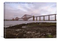 Forth Bridge. Scotland.  , Canvas Print