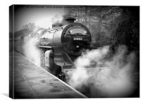 East Lancs Railway. , Canvas Print
