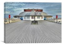 Pavillion Theatre Cromer Pier, , Canvas Print