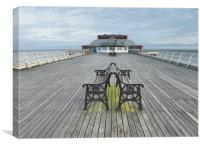 Pavillion Theatre Cromer Pier, , Canvas Print