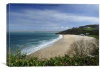 Porthminster Beach Cornwall., Canvas Print