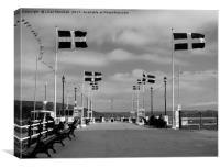 Falmouth Pier. , Canvas Print