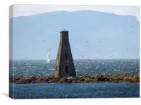 The Beacon Horse Island. , Canvas Print