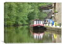Hebdon Bridge, Canvas Print