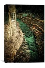 emerald waters, Canvas Print